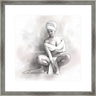 Figure Study 1 Framed Print