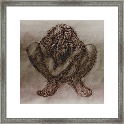 Figure.03 Framed Print by Terrell Gates