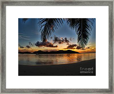 Fiji Island Dreams Framed Print