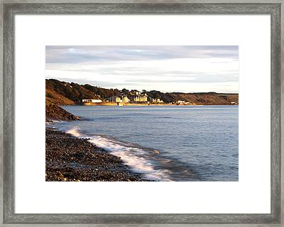 Filey Shore Framed Print by Svetlana Sewell