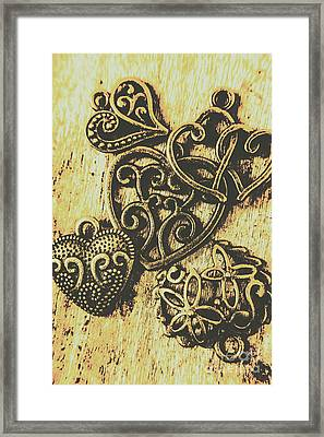 Filigree Love Framed Print by Jorgo Photography - Wall Art Gallery