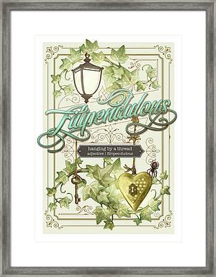 Filipendulous Framed Print