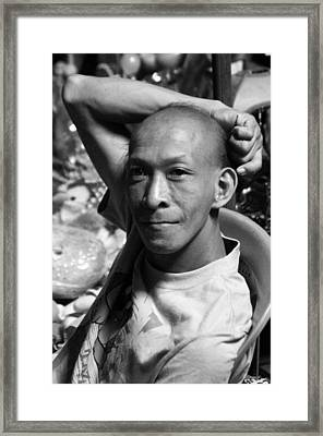 filipino Andy Framed Print by Jez C Self