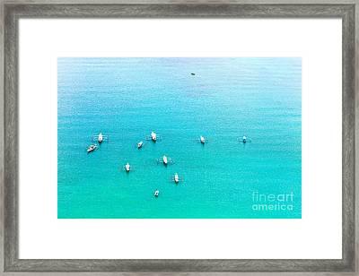 Filipino Boats Framed Print by MotHaiBaPhoto Prints