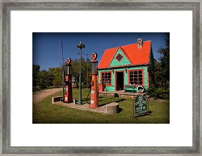 Fill 'er Up Framed Print
