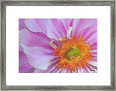Fill The Frame Framed Print by Kristin Elmquist