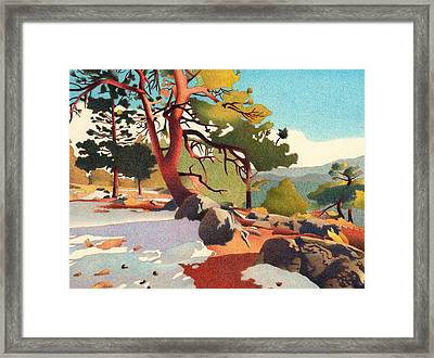 Fillius Ridge Framed Print