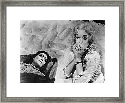 Framed Print featuring the photograph Film: Baby Jane, 1962 by Granger
