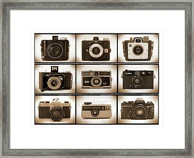 Film Camera Proofs 1 Framed Print by Mike McGlothlen