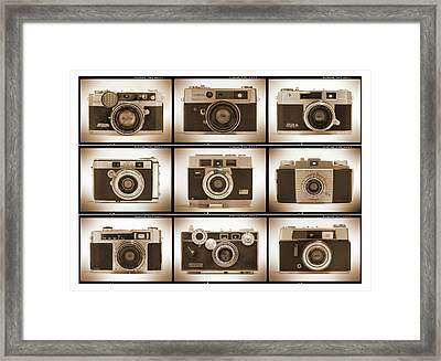 Film Camera Proofs 2 Framed Print by Mike McGlothlen