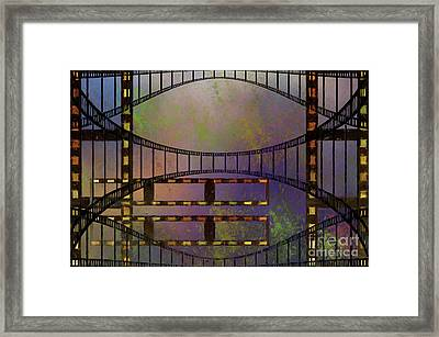 Framed Print featuring the mixed media Film Is Dead by Jim  Hatch