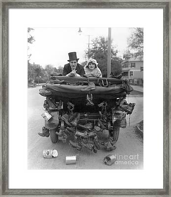 Film Still: Wedding Framed Print by Granger