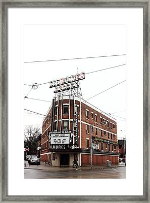 Filmore's Framed Print by Kreddible Trout