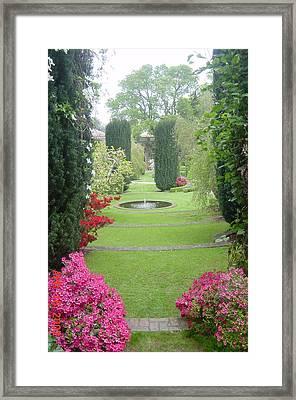 Filoli Gardens Framed Print by Shelley Capovilla