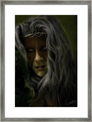 Filraena Framed Print by Jeremy Martinson