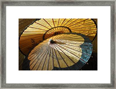 Filtered Light Framed Print