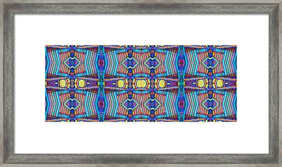 Fimo Clay 12 19 16 Framed Print by Modern Metro Patterns and Textiles