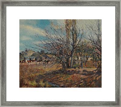 Fin De Invierno Framed Print