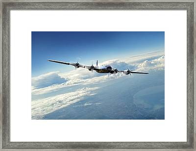 Final Approach  Framed Print by Peter Chilelli