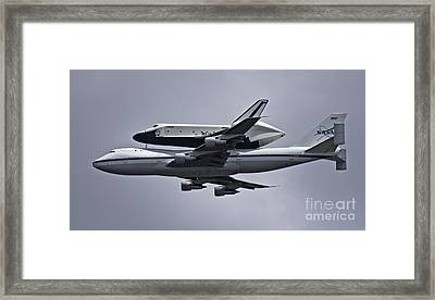 Final Approach Framed Print by Scott Evers