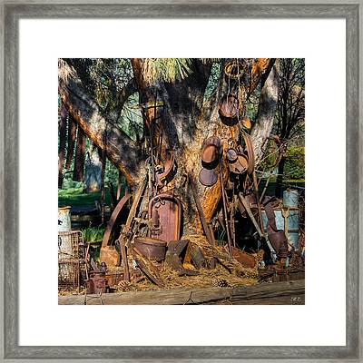 Final Home Framed Print by Susan Eileen Evans