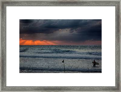 Final Light Framed Print