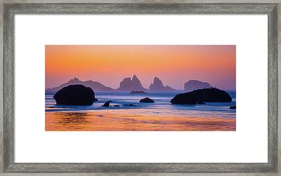 Final Moments Framed Print