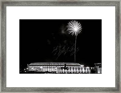 Final Night Game At The Vet Framed Print