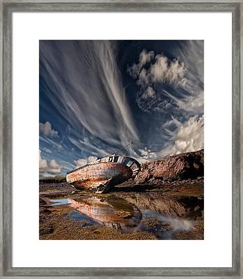 Final Place Framed Print by Thorsteinn H. Ingibergsson