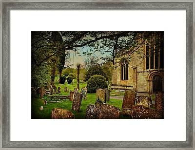 Final Rest Framed Print by Toni Abdnour