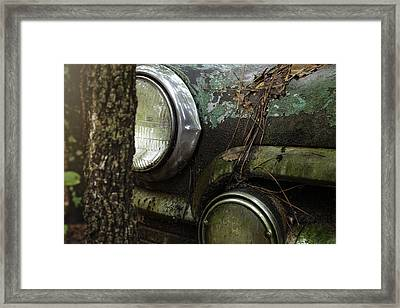 Final Resting Place Framed Print by Sally Simon