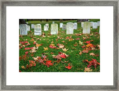 Final Resting Place Framed Print