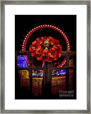 Final Salute Framed Print by Jasna Buncic