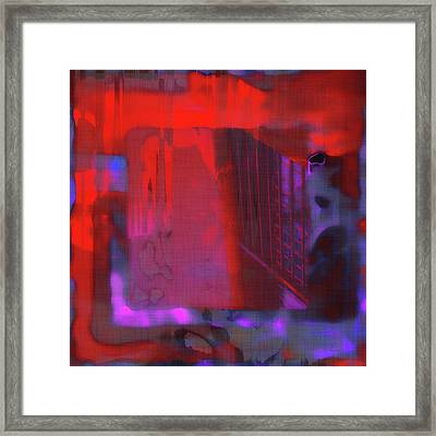 Framed Print featuring the digital art Final Scene - Before The Bell by Wendy J St Christopher