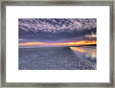 Final Shot Of The Night Framed Print