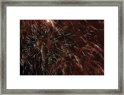 Finale Framed Print by Clay Peters Photography