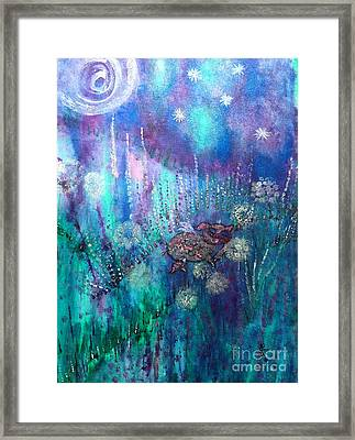 Finally Free Framed Print by Julie Engelhardt