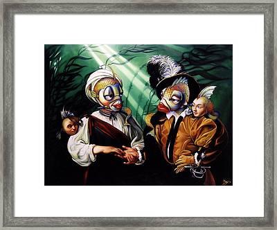 Finamorata Framed Print by Patrick Anthony Pierson