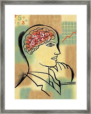 Finance Idea Framed Print by Leon Zernitsky