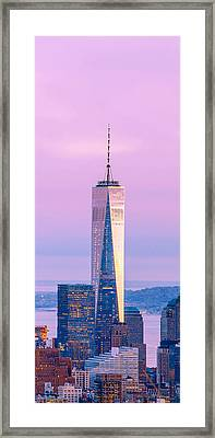 Finance Romance Framed Print