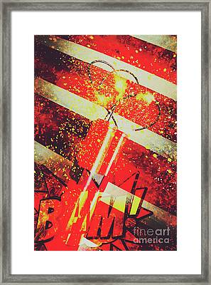 Financial Meltdown Coming Soon Framed Print by Jorgo Photography - Wall Art Gallery