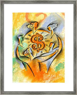 Financial Success Framed Print