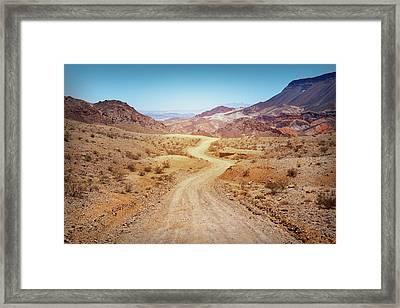 Find A Way Framed Print
