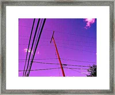 Find Beauty Where You May Framed Print by Chuck Taylor