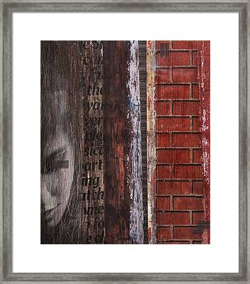 Framed Print featuring the painting Find Me by Geraldine Gracia