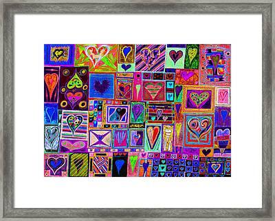 Find U'r Love Found 2 Framed Print by Kenneth James