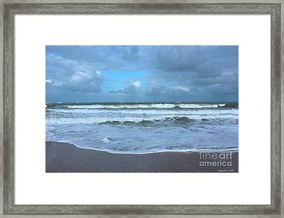 Find Your Beach Framed Print by Megan Dirsa-DuBois