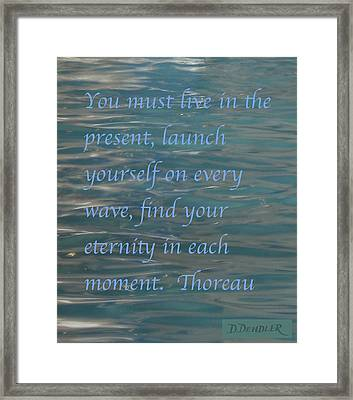 Find Your Eternity Framed Print