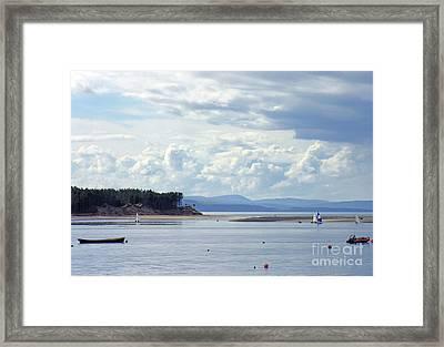 Findhorn Bay - Moray Firth Framed Print