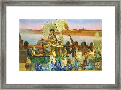 Finding Baby Moses 1904 Framed Print by Padre Art